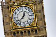 Big Ben clock in St Stephen's Tower, London, United Kingdom