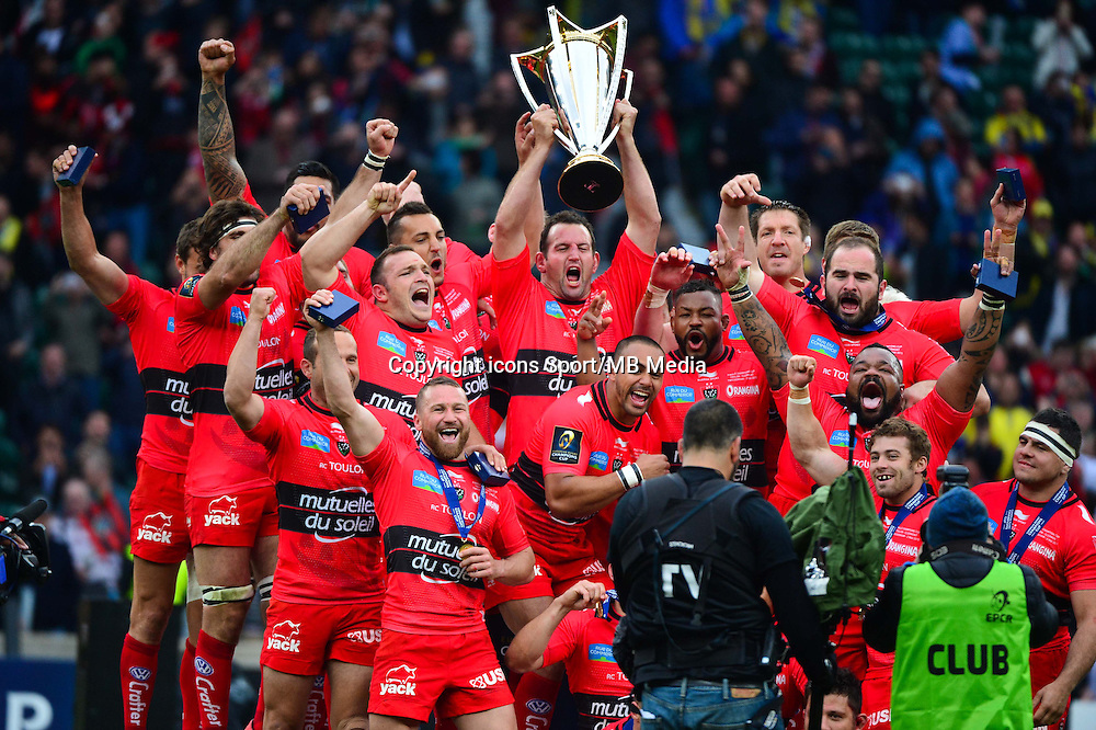 Joie Toulon - 02.05.2015 - Clermont / Toulon - Finale European Champions Cup -Twickenham<br />