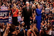 Presidential hopeful Hillary Clinton is holding her victory speech at the Baruch College after winning South Dakota, applauding Obama for Montana but not yet conceding.<br /> <br /> Hillary, her husband Bill and their daughter Chelsea on stage before Hillarys speech.