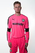 Forest Green Rovers goalkeeper Bradley Collins(1) during the Forest Green Rovers Photocall at the New Lawn, Forest Green, United Kingdom on 31 July 2017. Photo by Shane Healey.