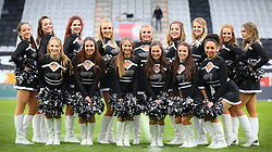 09.04.2016, Tivoli Stadion, Innsbruck, AUT, BATTLE4TIROL, Swarco Raiders Tirol (AUT) vs Helsinki Roosters (FIN), im Bild Raiderettes (Swarco Raiders Tirol, Senior Dance Team) // during the BATTLE4TYROL game between Swarco Raiders Tirol (AUT) and Helsinki Roosters (FIN) at the Tivoli Stadion, Innsbruck, Austria on 2016/04/09. EXPA Pictures © 2016, PhotoCredit: EXPA/ Thomas Haumer