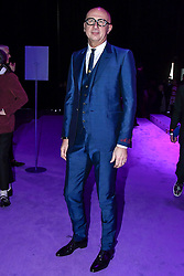 Marco Bizzarri on the front row during the Gucci catwalk show during Milan Fashion Week 2017