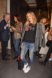 Kim Hersov at a VIP private view of 21st Century Women held at Unit London, Hanover Square, London England. 03 October 2018.