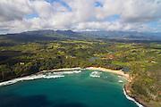 Kilauea Bay, Kauai, Hawaii