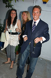 HARRY BECHER at a party to celebrate the re-launh of Penhaligon's at 132 Kings Road, London SW3 on 7th June 2006.<br />