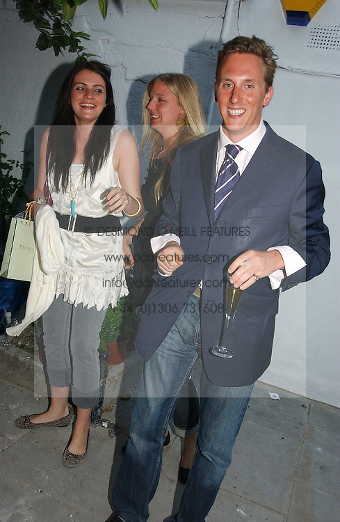HARRY BECHER at a party to celebrate the re-launh of Penhaligon's at 132 Kings Road, London SW3 on 7th June 2006.<br /><br />NON EXCLUSIVE - WORLD RIGHTS
