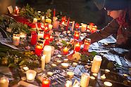 Mourn Charlie Hebdo, Berlin 07.01.16