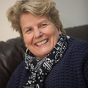 Sandy Toksvig, comedian and politician. <br />