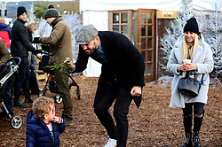 Marlon Pack at the Bristol City and Bristol Rugby Christmas Party at Avon Valley Country Park - Photo mandatory by-line: Dougie Allward/JMP - 26/11/2017 - Avon Valley Country Park - Bristol, England -  v  - Bristol City and Bristol Rugby Christmas party
