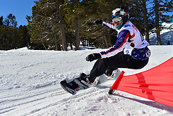 World Cup Banked Slalom, GABEL Keith, USA at the 2016 IPC Snowboard Europa Cup Finals and World Cup