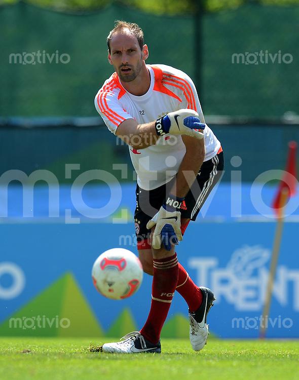 Fussball 1. Bundesliga:  Saison  Vorbereitung 2012/2013     Trainingslager des FC Bayern Muenchen 19.07.2012 Torwart Tom Starke