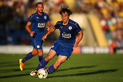 Shinji Okazaki of Leicester City in action - Mandatory byline: Jason Brown/JMP - 19/07/2016 - FOOTBALL - Oxford, Kassam Stadium - Oxford United v Leicester City - Pre Season Friendly