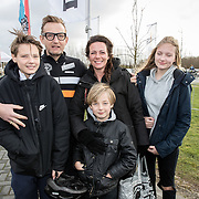 NLD/Biddinghuizen//20170305 - De Hollandse 100 - Stichting Lymph & Co 2017, Prins Bernhard met partner Prinses Annette en hun kinderen Isabella, Samuel en Benjamin