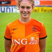 NLD/Velsen/20130701 - Selectie Nederlands Dames voetbal Elftal, Mirte Roelvink