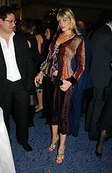 """MEREDITH OSTROM at a party to celebrate the publication of Bruce Oldfield's autobiography """"Rootless"""" held in aid of Crimestoppers at Claridge's, Brook Street, London W1 on 22nd September 2004.<br /><br />NON EXCLUSIVE - WORLD RIGHTS"""