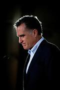 Tampa, Florida, USA, 20120124: Den republikanske presidentkandidaten Mitt Romney holder en såkalt prebuttal, motsvar, til Obamas State of the Union tale. Foto: Ørjan F: Ellingvåg