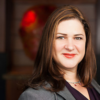 Professional headshot photographed on location for a lawyer by KMS Photography