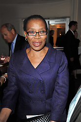 Ms. B Qwabe Deputy High Commissioner for South Africa to the UK at a gala evening in aid of Ubuntu Education Fund held at Battersea Power Station, London on 4th May 2011.