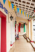 A tradition style home in Santiago Tuxtla, Veracruz, Mexico.