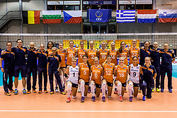 22-08-2017 NED: World Qualifications Netherlands - Greece, Rotterdam<br /> Teamfoto Nederland