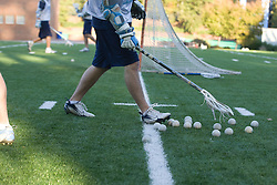 05 November 2007: North Carolina Tar Heels men's lacrosse in a practice on Navy Field in Chapel Hill, NC.