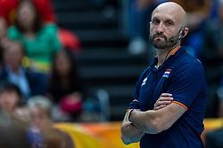 20-10-2018 JPN: Final World Championship Volleyball Women day 18, Yokohama<br /> China - Netherlands 3-0 / Coach Jamie Morrison of Netherlands