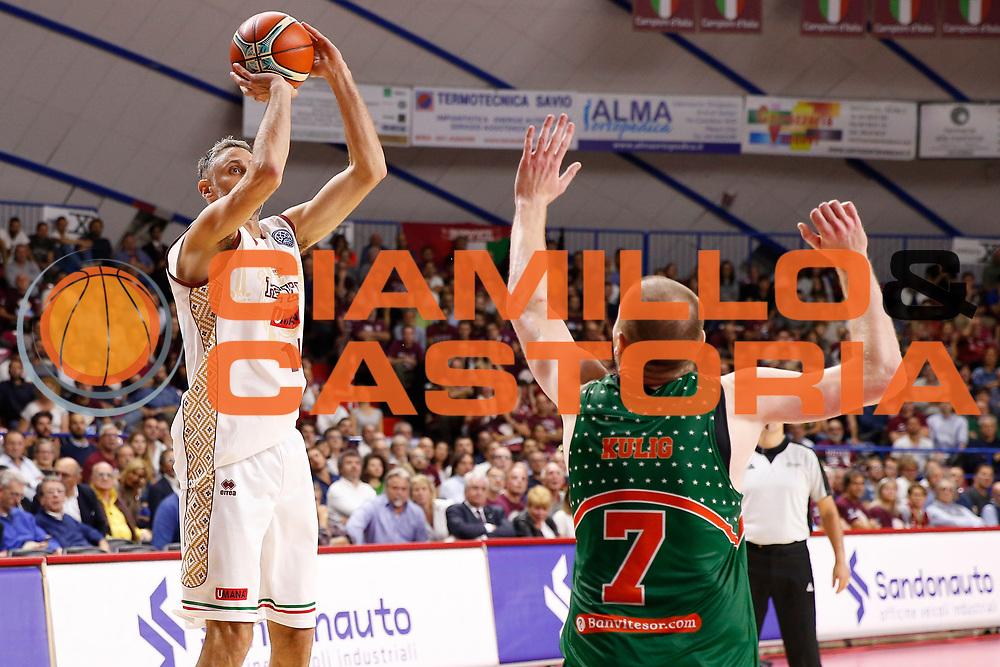Rees Tomas<br /> Umana Reyer Venezia vs Banvit<br /> FIBA Basketball Champions League 2017/2018<br /> Venezia,  10/10/2017<br /> Foto Ciamillo-Castoria/A. Gilardi