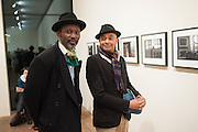 SAL IDRISS; SOAVINA RAMAROSON, Warhol, Burroughs and Lynch exhibition. The Photographers' Gallery, Ramillies Place, London. 16 January 2014.