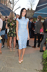 PICTURE SHOWS:-LINZI STOPPARD.<br /> Tuesday 14th April 2015 saw a host of London influencers and VIP faces gather together to celebrate the launch of The Ivy Chelsea Garden. Live entertainment was provided by jazz-trio The Blind Tigers, whilst guests enjoyed Moët & Chandon Champagne, alongside a series of delicious canapés created by the restaurant's Executive Chef, Sean Burbidge.<br /> The evening showcased The Ivy Chelsea Garden to two hundred VIPs and Chelsea<br /> residents, inviting guests to preview the restaurant and gardens which marry<br /> approachable sophistication and familiar luxury with an underlying feeling of glamour and theatre. The Ivy Chelsea Garden's interiors have been designed by Martin Brudnizki Design Studio, and cleverly combine vintage with luxury, resulting in a space that is both alluring and down-to-earth.