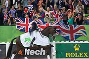 Charlotte Dujardin - Valegro<br /> Alltech FEI World Equestrian Games™ 2014 - Normandy, France.<br /> © DigiShots
