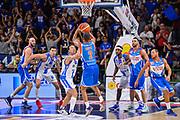 Jaime Smith<br /> Banco di Sardegna Dinamo Sassari - Red October Cantu'<br /> LegaBasket LBA Poste Mobile 2017/2018<br /> Sassari, 01/10/2017<br /> Foto L.Canu / Ciamillo-Castoria