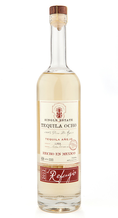 Tequila Ocho Añejo 2012 - El Refugio -- Image originally appeared in the Tequila Matchmaker: http://tequilamatchmaker.com