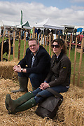 SAM COOPER-WILKES; MARY COOPER-WILKES, Heythrop Point to Point, Cocklebarrow, 2 April 2017.