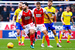 Richie Towell of Rotherham United looks for options - Mandatory by-line: Ryan Crockett/JMP - 26/01/2019 - FOOTBALL - Aesseal New York Stadium - Rotherham, England - Rotherham United v Leeds United - Sky Bet Championship