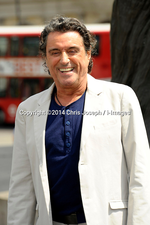 Image ©Licensed to i-Images Picture Agency. 02/07/2014. London, United Kingdom. Ian McShane attends a photocall for 'Hercules' at Trafalgar Square. Picture by Chris Joseph / i-Images