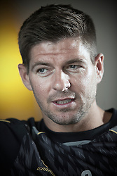 Steven Gerrard, Footballer for Liverpool, Bournemouth, United Kingdom. Tuesday, 16th July 2013. Picture by Terry Harris / i-Images. <br />