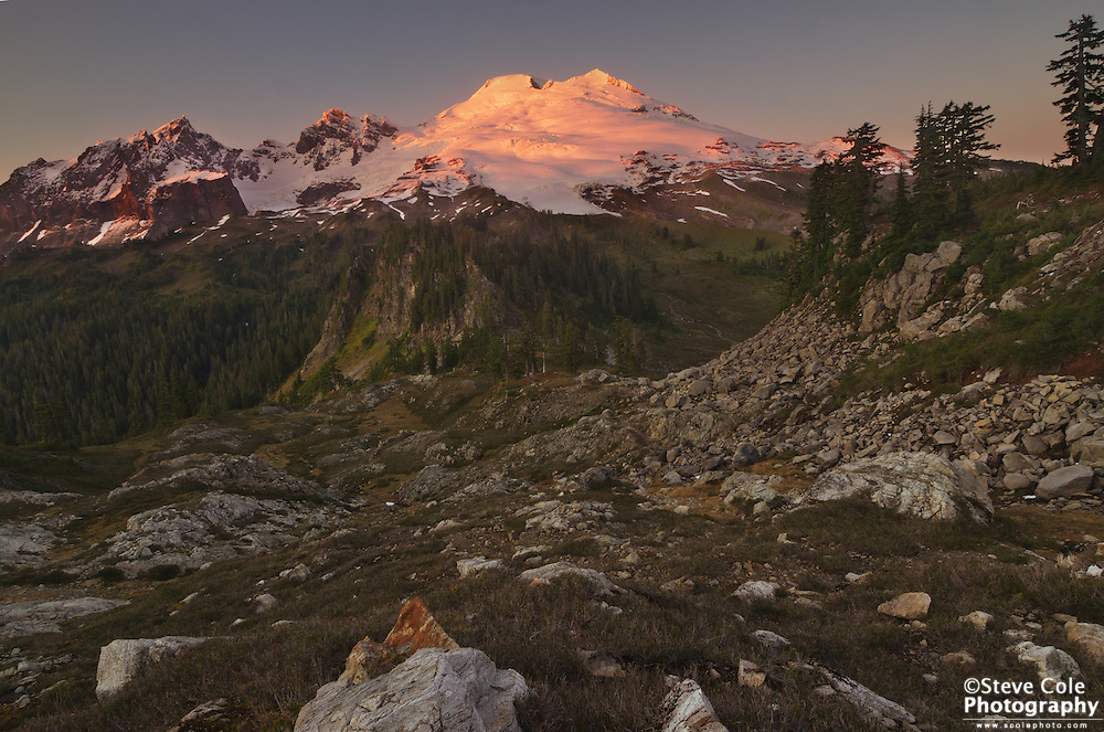 Rock Garden - Mount Baker National Recreation Area