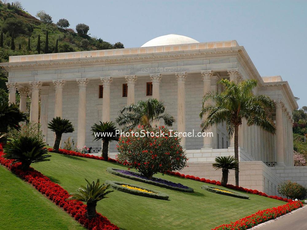 Bahai Gardens and shrine, Haifa, Israel
