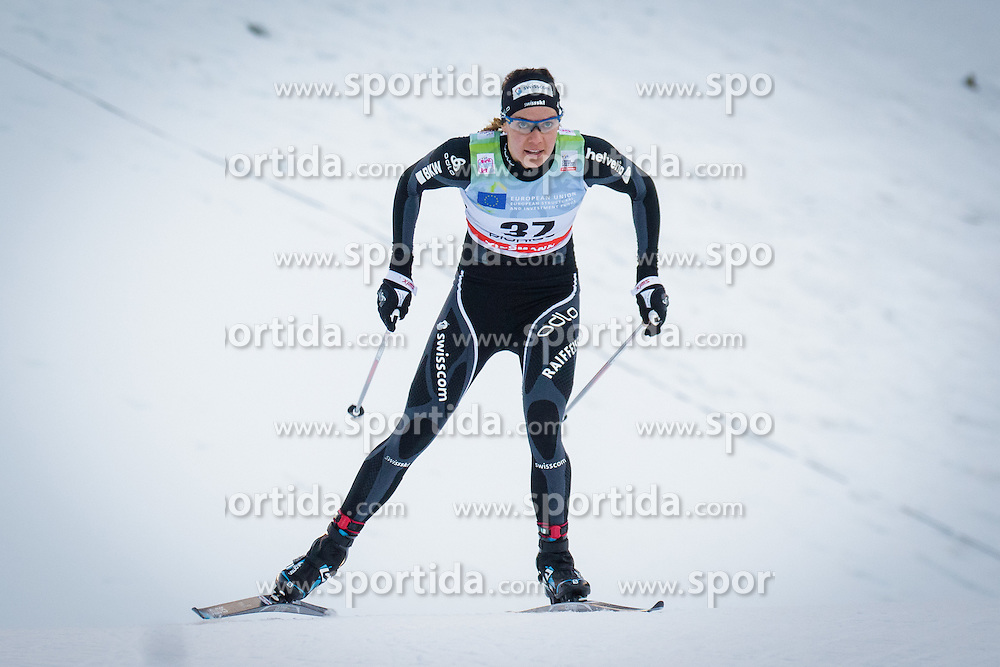 Heidi Widmer (SUI) during Ladies 1.2 km Free Sprint Qualification race at FIS Cross<br /> Country World Cup Planica 2016, on January 16, 2016 at Planica,Slovenia. Photo by Ziga Zupan / Sportida