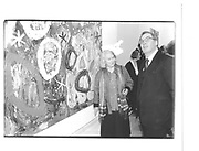 Gillian Ayres, Duke of Gloucester. Gillian Ayres and Sir Denys Lasden Opening Royal Academy 4th Feb 1997© Copyright Photograph by Dafydd Jones 66 Stockwell Park Rd. London SW9 0DA Tel 020 7733 0108 www.dafjones.com