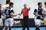 HAMBURG   - Euro Hockey Leaque round 1.1.<br /> HARVESTEHUDER v GRANGE (Pool B)<br /> foto:  Umpire Eduardo Lizana.<br /> FFU PRESS AGENCY COPYRIGHT FRANK UIJLENBROEK