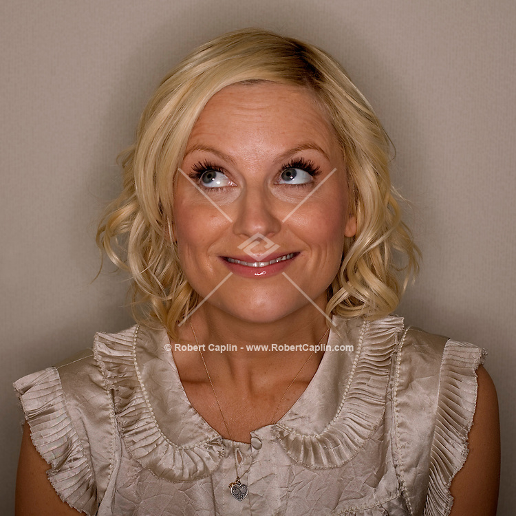 Amy Poehler poses for a photo at the Ritz Carleton Hotel in New York April 14, 2008.