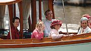 Henley, Great Britain.  Howard JACOBS, London Representive of the Varsity Boat race, enjoying,   2007 Henley Royal Regatta, on his boat,  Henley Reach, England 06/07/2007  [Mandatory credit Peter Spurrier/ Intersport Images] Rowing Courses, Henley Reach, Henley, ENGLAND . HRR.