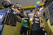 All Star Game, la Nazionale Italiana incontra i tifosi<br /> Nella foto: stefano mancinelli, matteo soragna