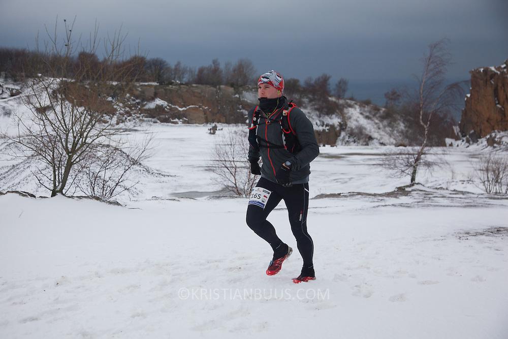 Salomon Hammer Trail Winter Edition på Bornholm består af 4 løb, 50 miles, maraton, 1/2 maraton og 10 km. De første løbere startede kl 6 og den sidste løber var inde efter 15 timer og 14 minuter. Løbene løbes på en rute på ca 25 km som inkluderer 860 højdemeter og er Danmark's hårdeste trail løb. Løberne skal ned og ringe på klokken på Jon's Kapel, forbi Hammer Hus og over Hammer Knude. Over 100 løbere gennemførte løbet indenfor tidsgrænsen, som for 50 mil var sat til 16 timer.