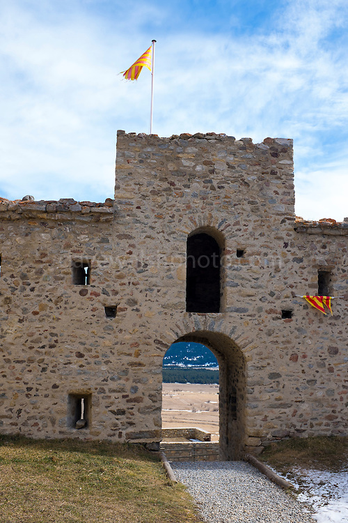 Town Walls, Les Angles, Pyrenees Orientales, France