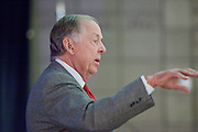 11 DECEMBER 2008 -- Oil magnate and proponent of wind energy T. Boone Pickens spoke at the Biltmore during the Chamber breakfast Thursday.  PHOTO BY JACK KURTZ