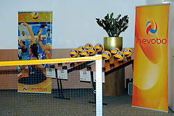 02-07-2011 VOLLEYBAL: DRAW EUROPEAN SITTING VOLLEYBALL: ROTTERDAM<br /> In Novotel Rotterdam was the draw for the European sitting volleyball held in October in Rotterdam Topsportcentrum.<br /> ©2011 Ronald Hoogendoorn Photography
