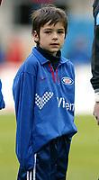 Fotball. Eliteserien Vålerenga - Start. Maskott 20/10-2002.<br /> <br /> Foto: Andreas Fadum, Digitalsport