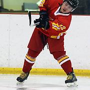 Wang Tiannan, China, in action  during the Bulgaria V China match at the 2012 IIHF Ice Hockey World Championships Division 3 held at Dunedin Ice Stadium. Dunedin, Otago, New Zealand. 17th January 2012. Photo Tim Clayton